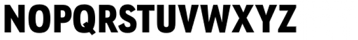 URW Geometric Condensed Black Font UPPERCASE