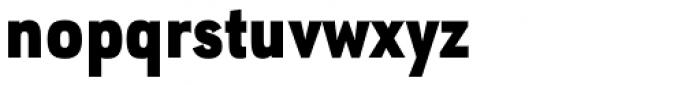 URW Geometric Condensed Black Font LOWERCASE