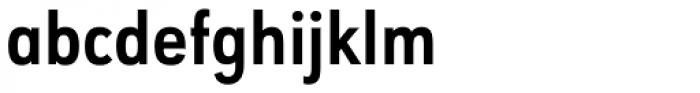 URW Geometric Condensed Bold Font LOWERCASE