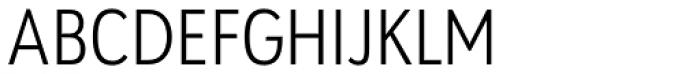 URW Geometric Condensed Light Font UPPERCASE