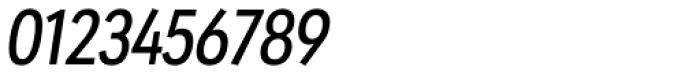 URW Geometric Condensed Medium Oblique Font OTHER CHARS