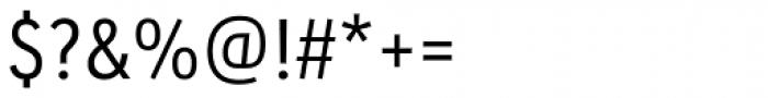 URW Geometric Condensed Regular Font OTHER CHARS