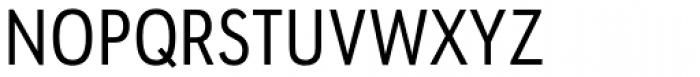URW Geometric Condensed Regular Font UPPERCASE