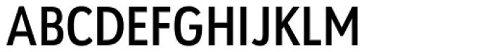 URW Geometric Condensed Semi Bold Font UPPERCASE