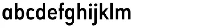 URW Geometric Condensed Semi Bold Font LOWERCASE