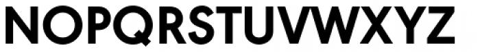 URW Geometric ExtraBold Font UPPERCASE
