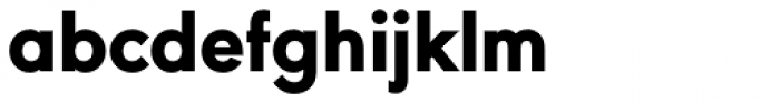 URW Geometric Heavy Font LOWERCASE