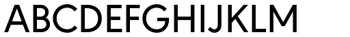 URW Geometric Medium Font UPPERCASE