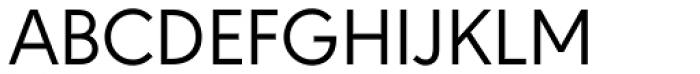 URW Geometric Regular Font UPPERCASE