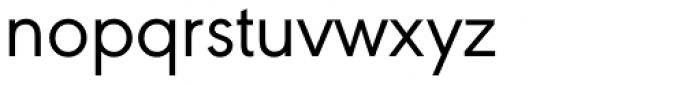 URW Geometric Regular Font LOWERCASE