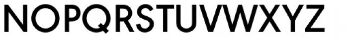 URW Geometric SemiBold Font UPPERCASE