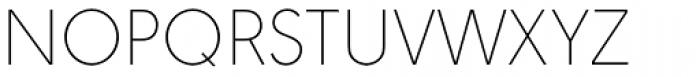 URW Geometric Thin Font UPPERCASE