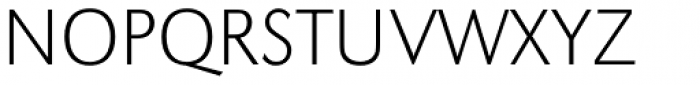 URW Grotesk ExtraLight Font UPPERCASE