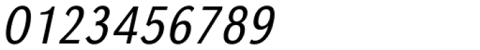 URW Grotesk ExtraNarrow Light Oblique Font OTHER CHARS