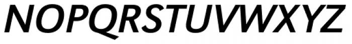 URW Grotesk Italic Font UPPERCASE