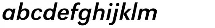 URW Grotesk Italic Font LOWERCASE