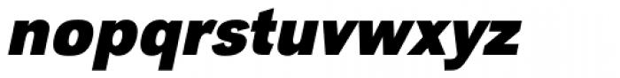 URW Grotesk Narrow Bold Oblique Font LOWERCASE