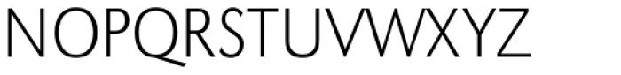 URW Grotesk Narrow ExtraLight Font UPPERCASE