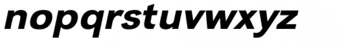 URW Grotesk Wide Medium Oblique Font LOWERCASE