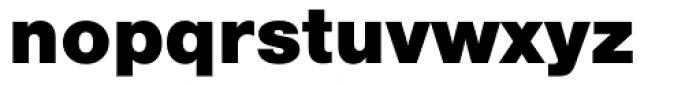 URW Heisei Gothic Heavy Font LOWERCASE