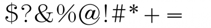 URW Heisei Mincho Light Font OTHER CHARS