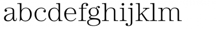 URW Heisei Mincho Light Font LOWERCASE
