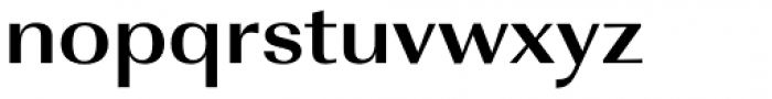 URW Imperial ExtraWide Bold Font LOWERCASE