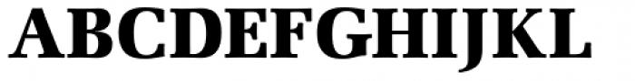 URW Latino Black Font UPPERCASE