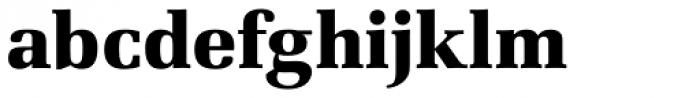 URW Latino Black Font LOWERCASE