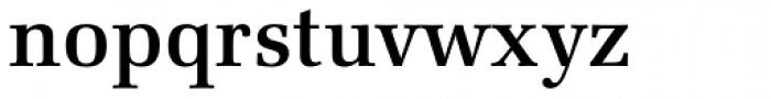 URW Latino Medium Font LOWERCASE