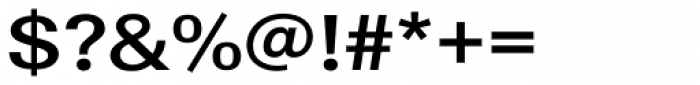 URW Linear ExtraWide Bold Font OTHER CHARS