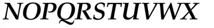 URW Palladio Bold Italic Font UPPERCASE