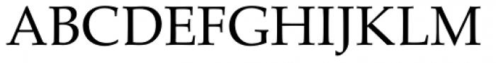 URW Palladio Font UPPERCASE