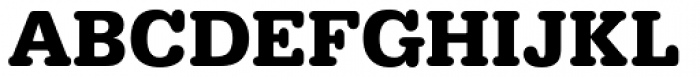 URW Typewriter Bold Font UPPERCASE