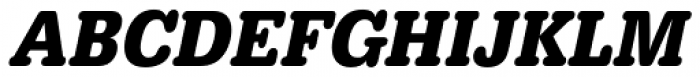 URW Typewriter ExtraNarrow Bold Oblique Font UPPERCASE