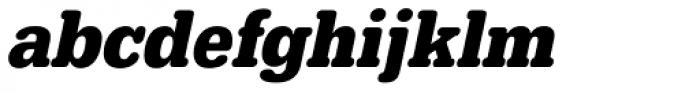 URW Typewriter ExtraNarrow Bold Oblique Font LOWERCASE