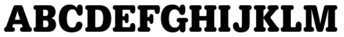 URW Typewriter ExtraNarrow Bold Font UPPERCASE