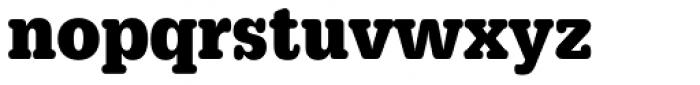 URW Typewriter ExtraNarrow Bold Font LOWERCASE