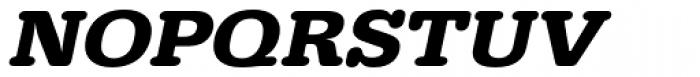 URW Typewriter ExtraWide Bold Oblique Font UPPERCASE