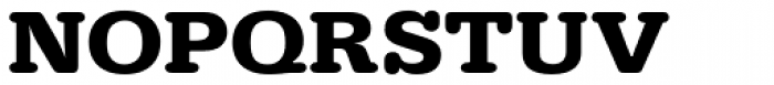 URW Typewriter ExtraWide Bold Font UPPERCASE