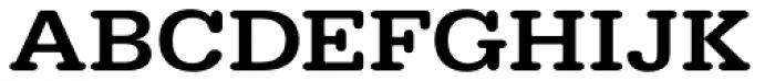 URW Typewriter ExtraWide Medium Font UPPERCASE