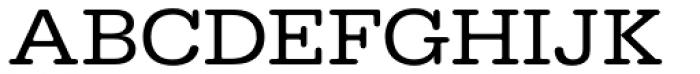URW Typewriter ExtraWide Font UPPERCASE