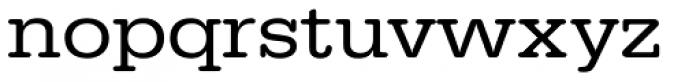 URW Typewriter ExtraWide Font LOWERCASE
