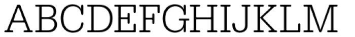 URW Typewriter Narrow Light Font UPPERCASE