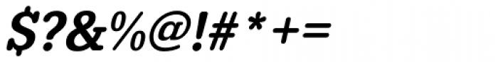 URW Typewriter Narrow Medium Oblique Font OTHER CHARS