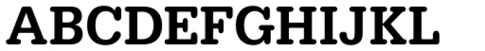 URW Typewriter Narrow Medium Font UPPERCASE
