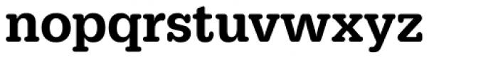 URW Typewriter Narrow Medium Font LOWERCASE