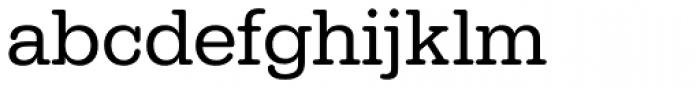 URW Typewriter Regular Font LOWERCASE