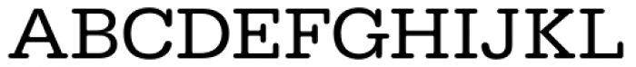 URW Typewriter Wide Regular Font UPPERCASE
