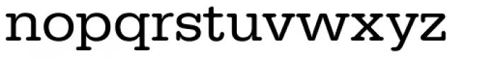 URW Typewriter Wide Regular Font LOWERCASE